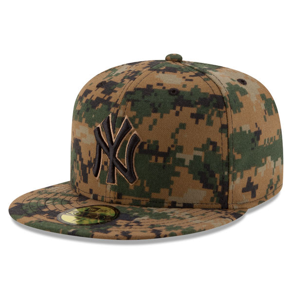 NEW YORK YANKEES NEW ERA 2016 MEMORIAL DAY DIGITAL CAMO 59FIFTY FITTED CAP c836c3083eb