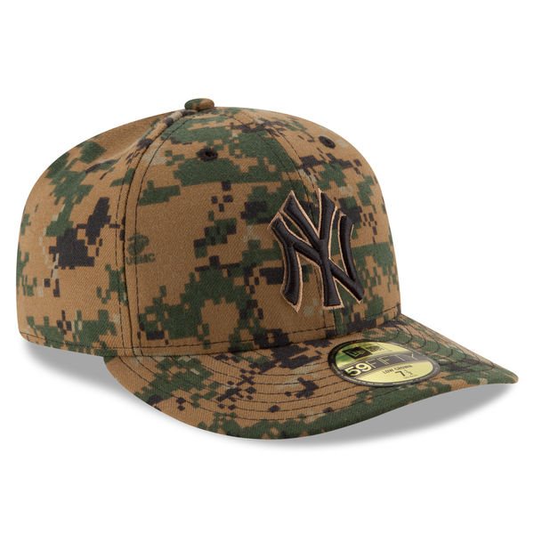 NEW YORK YANKEES MEN S NEW ERA 2016 MEMORIAL DAY DIGITAL CAMO LOW CROWN  59FIFTY FITTED CAP 85e71cdc896