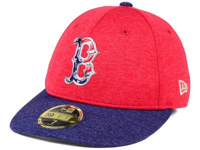 a8fbf6c1c0ccfd Boston Red Sox 2017 Men's New Era MLB Low Profile Stars & Stripes 59FIFTY  Cap