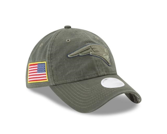 NEW ENGLAND PATRIOTS NEW ERA ON-FIELD COLLECTION SALUTE TO SERVICE 9TWENTY  ADJUSTABLE - YOUTH SIZE 9b80cdd73c4