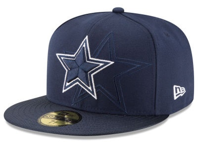 Dallas Cowboys 2016 Official NFL Sideline New Era 59FIFTY Fitted Cap 90b4f7974