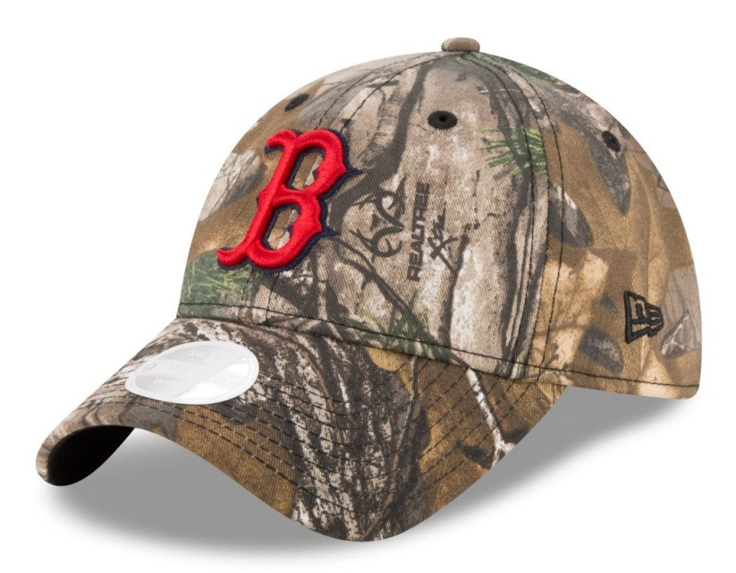 2893fa9ef91 Boston Red Sox Women s New Era Realtree 9TWENTY Adjustable Hat
